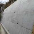高知市 重機が入らない現場で擁壁改修工事